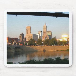 My Hometown  Indy Photoshoot by Dale Wilhelm Mouse Pad