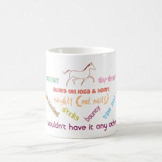My horse - cheeky day dreamer coffee mug
