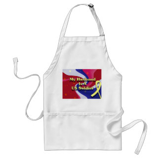 My Husband Is A Us Soldier Standard Apron