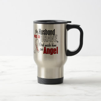 My Husband Is An Angel Lung Cancer Stainless Steel Travel Mug