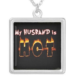 MY HUSBAND IS HOT! NECKLACE