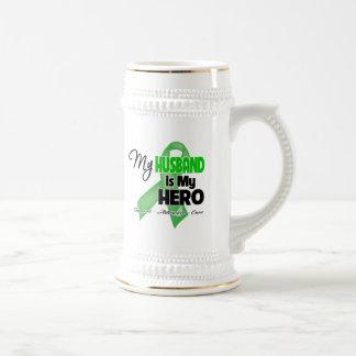 My Husband is My Hero - Kidney Cancer Mugs