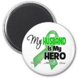 My Husband is My Hero - SCT BMT Fridge Magnet