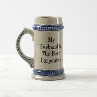 My Husband Is The Best Carpenter Coffee Mug