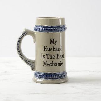 My Husband Is The Best Mechanic Mugs