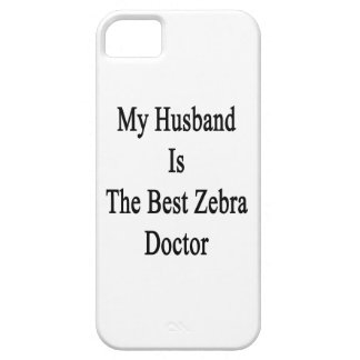 My Husband Is The Best Zebra Doctor iPhone 5 Case