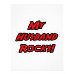 My Husband Rocks! Full Color Flyer