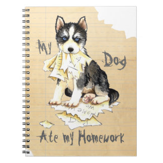 My Husky Ate My Homework Notebook