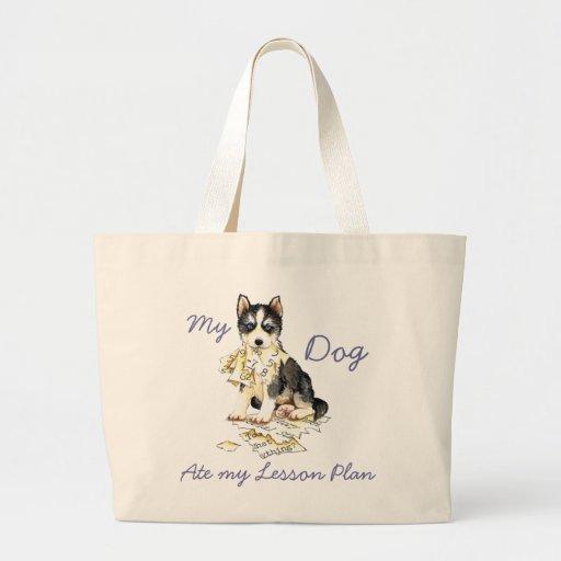 My Husky Ate My Lesson Plan Bag