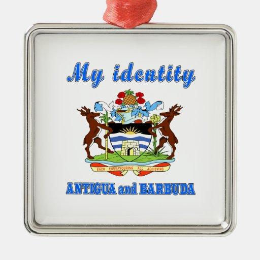 My Identity Antigua and Barbuda Christmas Ornaments