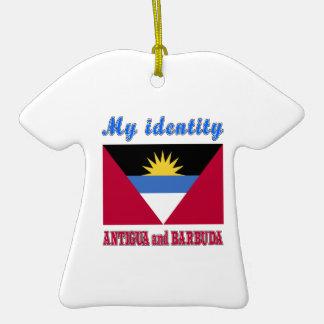 My Identity Antigua and Barbuda Ceramic T-Shirt Decoration