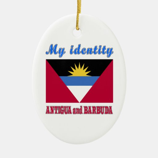 My Identity Antigua and Barbuda Christmas Tree Ornament