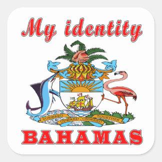 My Identity Bahamas Stickers