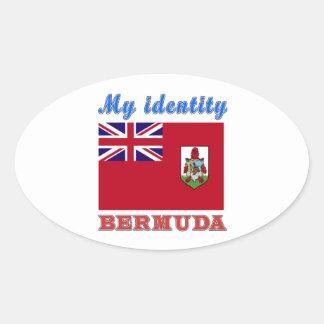 My Identity Bermuda Oval Sticker