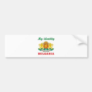 My Identity Bulgaria Bumper Sticker