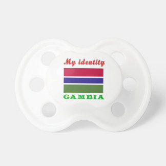 My Identity Gambia Baby Pacifiers