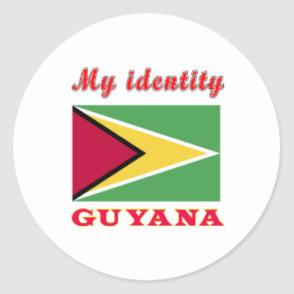 My Identity Guyana Sticker