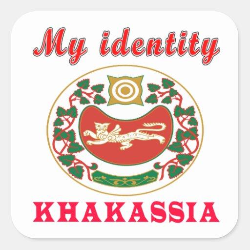 My Identity Khakassia Stickers