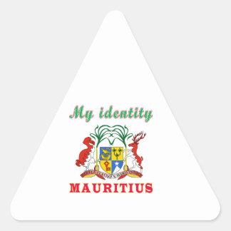 My Identity Mauritius Triangle Sticker