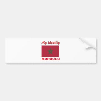 My Identity Morocco Bumper Stickers