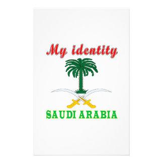 My Identity Saudi Arabia Customized Stationery