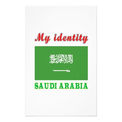 My Identity Saudi Arabia Personalized Stationery