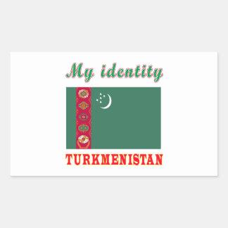 My Identity Turkmenistan Sticker