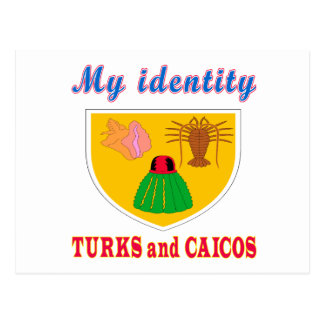 My Identity Turks and Caicos Postcard