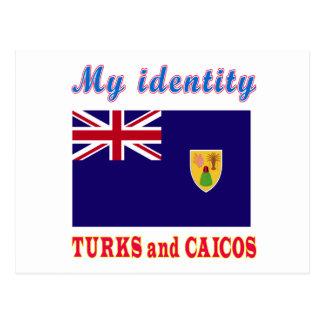 My Identity Turks and Caicos Postcard