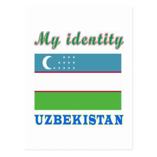My Identity Uzbekistan Postcard