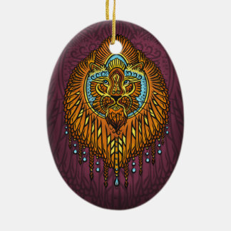 My inner voice, Tarot, strength, innerpower Christmas Ornament