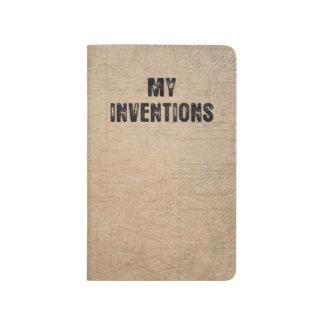 "My Inventions - Pocket Notebook 3.5"" x 5.5"" Journals"