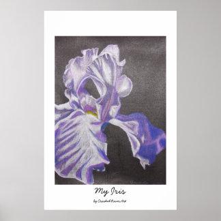 My Iris Poster