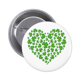 My Irish Heart 6 Cm Round Badge