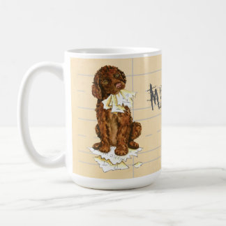 My Irish Water Spaniel Ate My Homework Coffee Mug