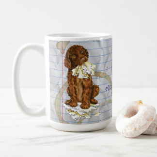 My Irish Water Spaniel Ate My Lesson Plan Coffee Mug