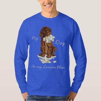 My Irish Water Spaniel Ate My Lesson Plan T-Shirt