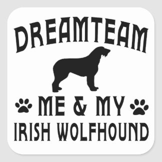 My Irish Wolfhound Dog Sticker