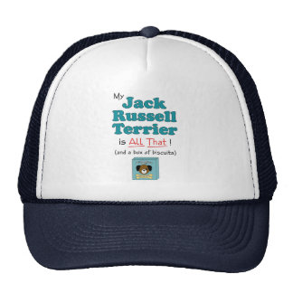 My Jack Russell Terrier is All That! Cap