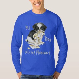 My Japanese Chin Ate My Homework T-Shirt