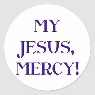 My Jesus Mercy Sticker