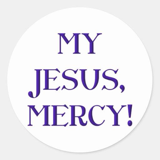My Jesus, Mercy! Sticker