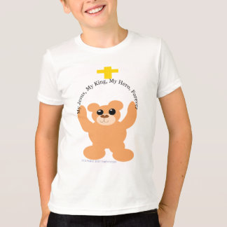 My Jesus, My King, My Hero Forever Bear Shirt