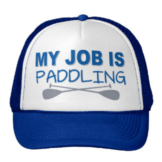 My Job Is Paddling Mesh Hats