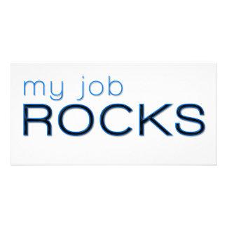 My Job Rocks Photo Card