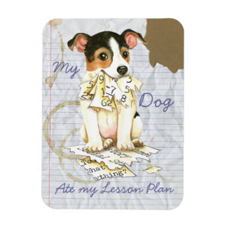 My JRT Ate My Lesson Plan Magnet