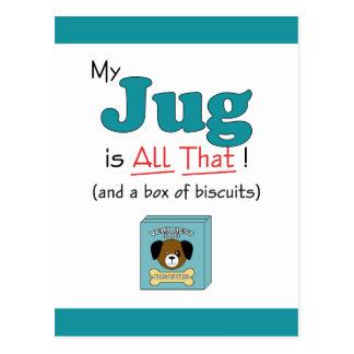 My Jug is All That! Postcard