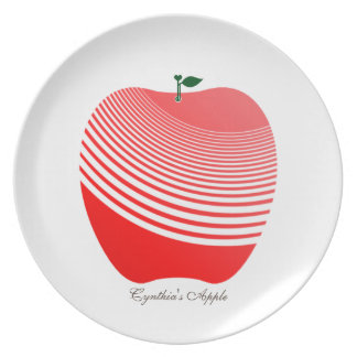 My Juicy Apple Melamine Plate