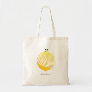 My Juicy Sour Lemon Grocery Tote Bag