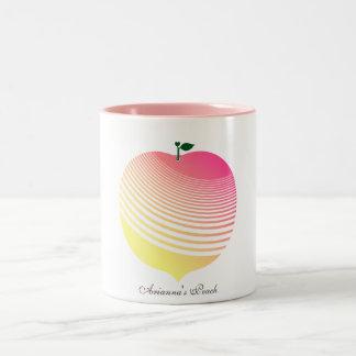 My Juicy White Peach Mug